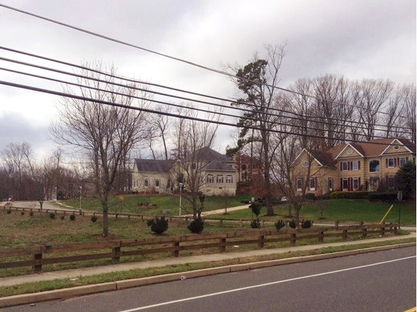 Beautiful view of Park Place from Texas Road in Monroe Township