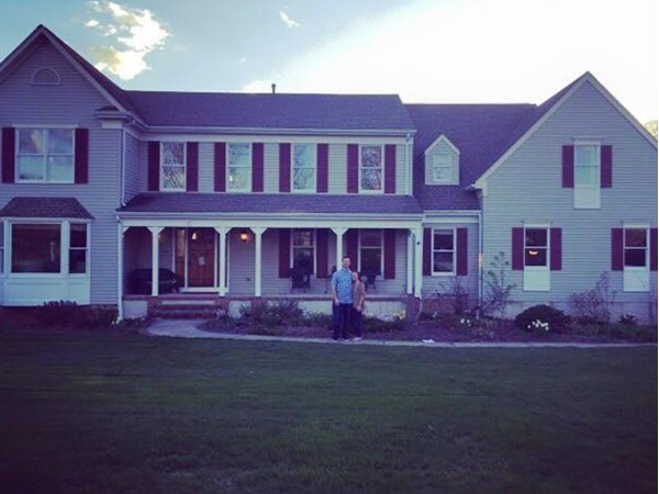 Our first home in Woodside Farms