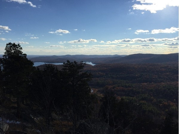 View of Ramapo Mountains from the Hiking trails in Ringwood