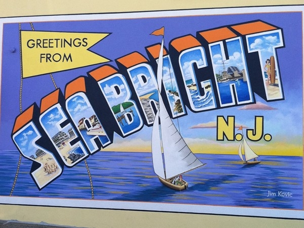 Welcome to Sea Bright on the shore in Monmouth County