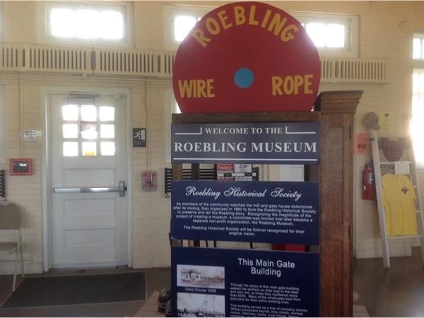 Roebling Museum interior