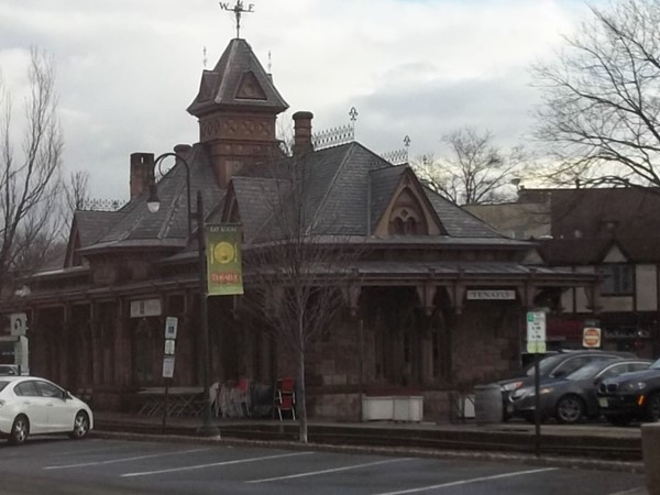 The old train station-now a gourmet deli