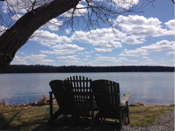 Spring at Swartswood Lake