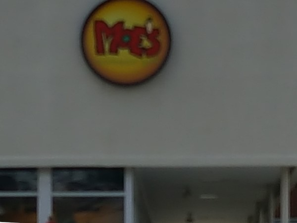 Moe's has awesome food