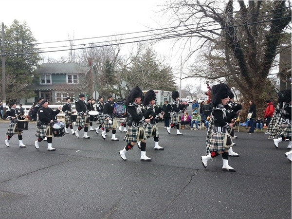 St. Patrick's Day Parade in Belmar