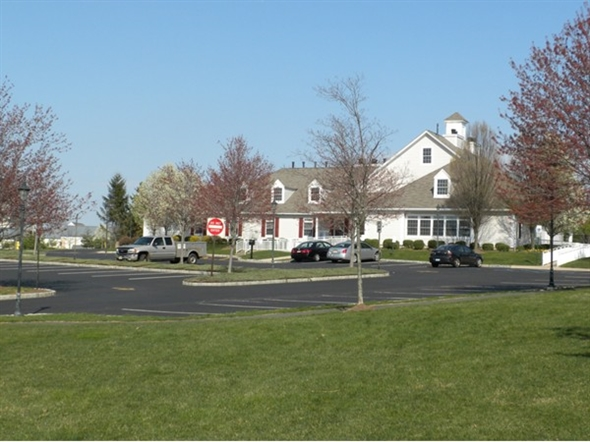 The Hills Recreation Center, with fitness center, locker room, meeting rooms and Assoc. offices