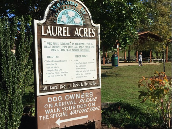 Welcome to Laurel Acres Park