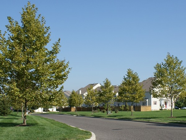 Townhomes in Clifton Mill neighborhood, Bordentown