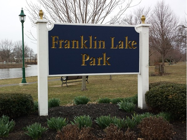 Signs of spring at Franklin Lake