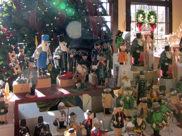 Sparta German Christmas Market inside vendor