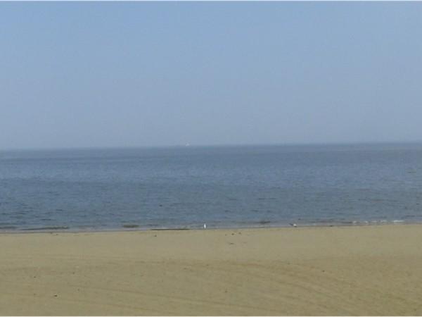 The Keansburg Beach and Raritan Bay