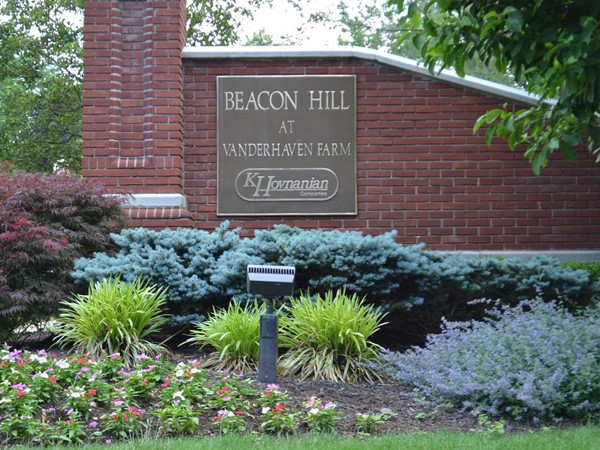 Residents of Beacon Hill enjoy the pool, tennis courts, club house and walking paths
