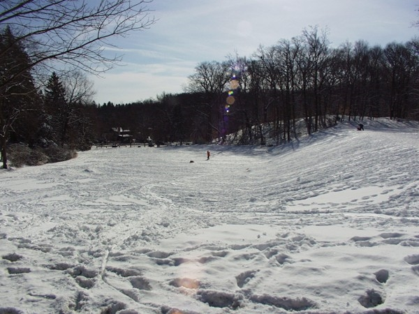 Atkins Glen - #1 place for sledding