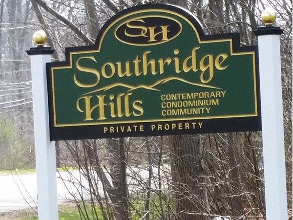Southridge Hills is a townhouse community which has garages