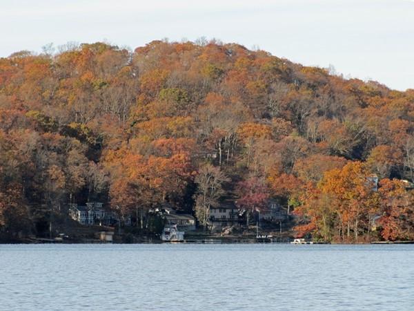 Late fall, Lake Mohawk, Sparta