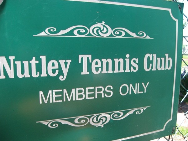 A Nutley Secret - The Nutley Tennis Club...featuring 5 red clay courts