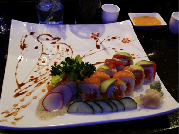 """Out of Control Roll"" at Sushi Ya"
