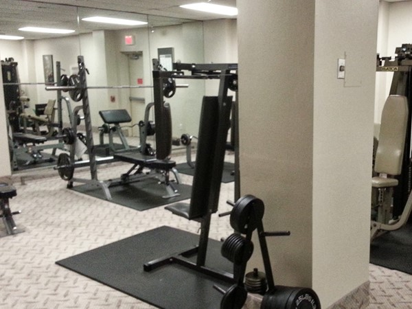 The Channel Club has a clean, well equipped fitness room