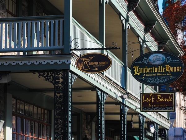 The Lambertville House is a historic inn