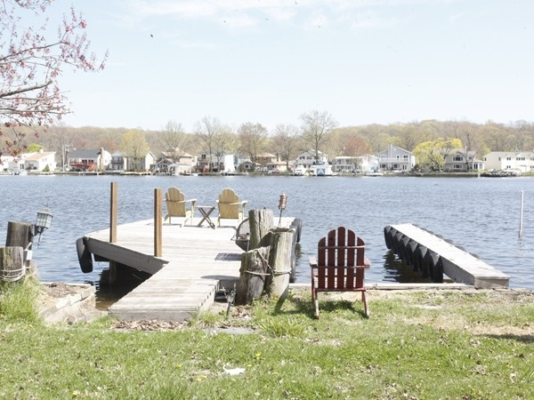 Dock on Lake Hopatcong