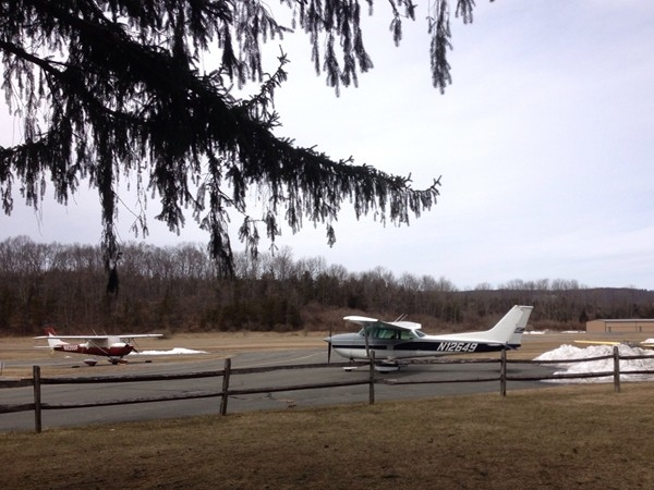 Did you know you could fly into Blairstown?