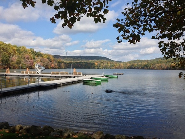 Beautiful, serene Lake Valhalla Club