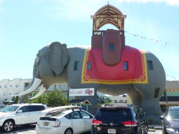 Lucy, Margate's historic six-story, 90-ton elephant