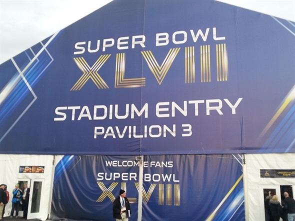 Super Bowl - XLVIII - begins!