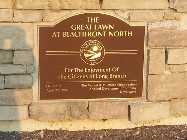 The Great Lawn is a staging area for summer events. Located between the Promenade and The Bluffs