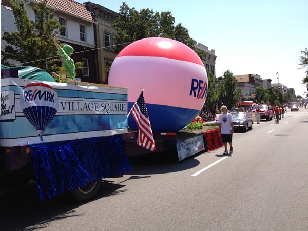 4th of July annual town parade, RE/MAX Village Square parade float  2012 3rd place winner!!