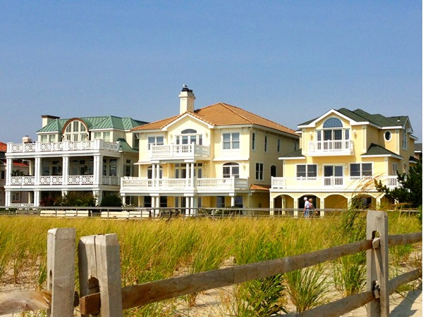 A few of Ventnor's spectacular beach front estates
