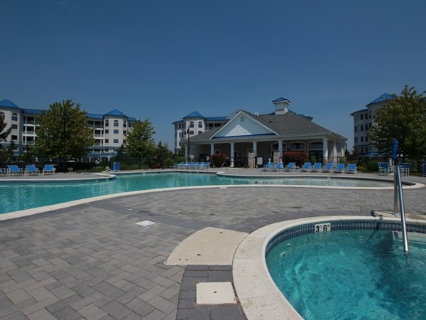 The pool area from The Tides at Seaboard