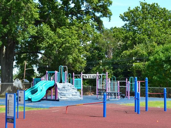 Hannah Caldwell Elementary School playground