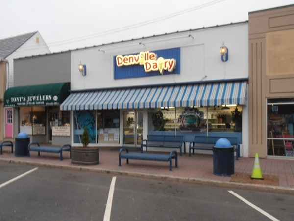 Denville Dairy, one of the centers walkable sites