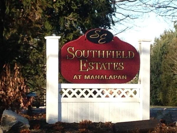 Southfield Estates entrance