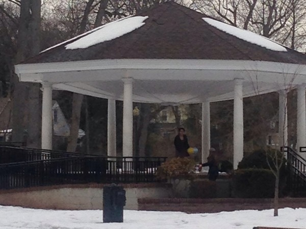 Gorgeous gazebo in the picturesque Mindowaskin Park