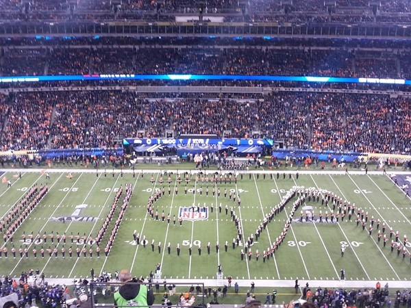 MetLife Stadium pre game performance
