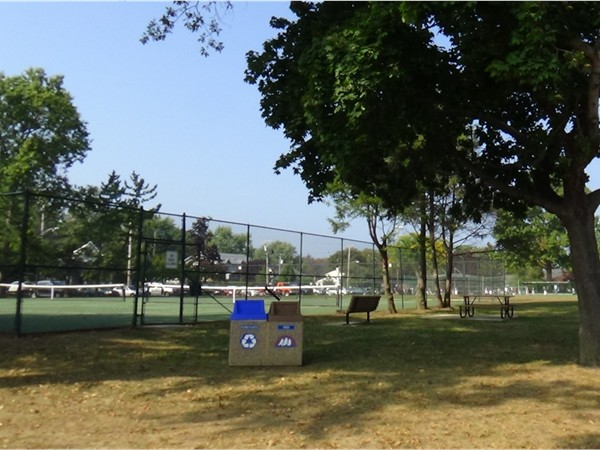 Tennis Courts at Oceanport's Community Center Park