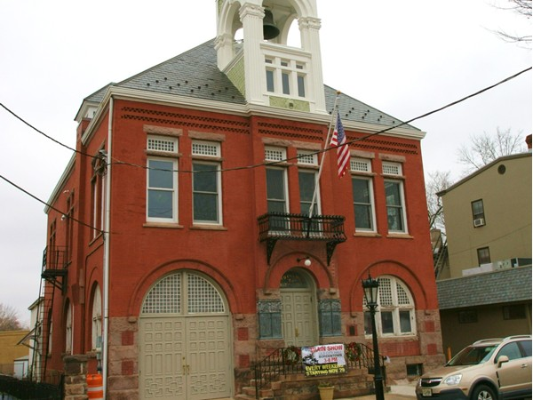 Bordentown's Old City Hall, ow serves as a local exhibition space for events, etc.