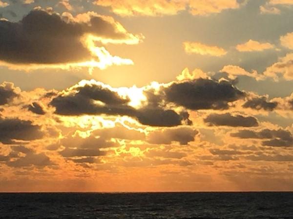 Sunrise at Coral St Beach