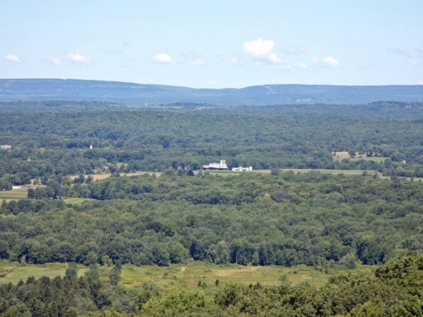 Scenic view of Green Township, Sussex & Warren Counties near Exit 19, Route 80