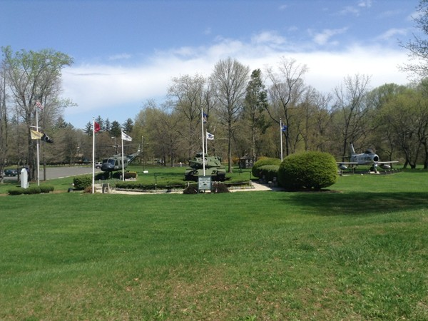 Armed Forces Memorial Field is located at the municipal building park complex