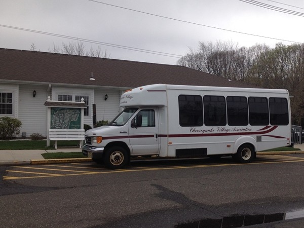 Community bus for scheduled trips