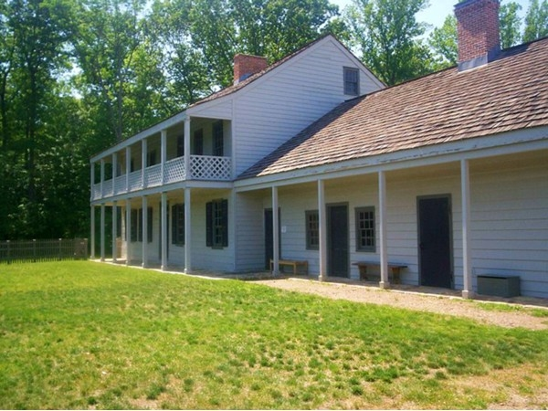 Rockingham was George Washington's final headquarters in 1783 at the end of the Revolutionary War