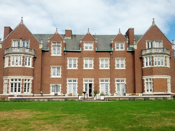 Stately Rutherfurd Hall houses a museum and is also available for  private events