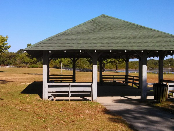 Gazebo at Tip Seaman Park