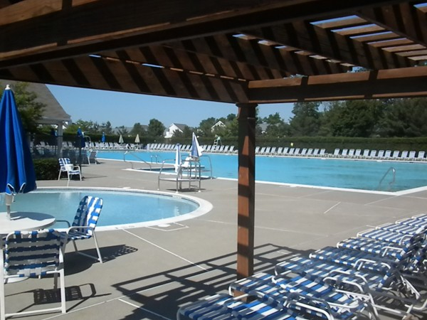 Rec Center main pool & kiddie pool; another set of pools is available a few blocks away