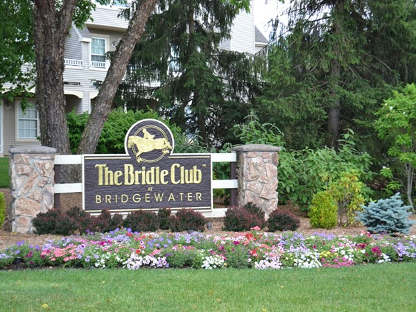 The Bridle Club community features a clubhouse, playground, tennis courts and walking paths