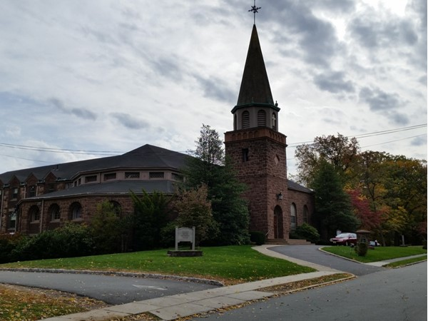 Historic St. Vincent's United Methodist Church in Nutley Park