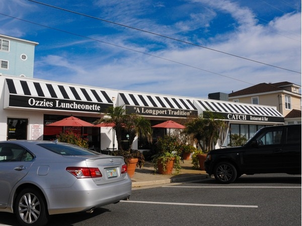 Enjoy great food at Ozzie's Luncheonette